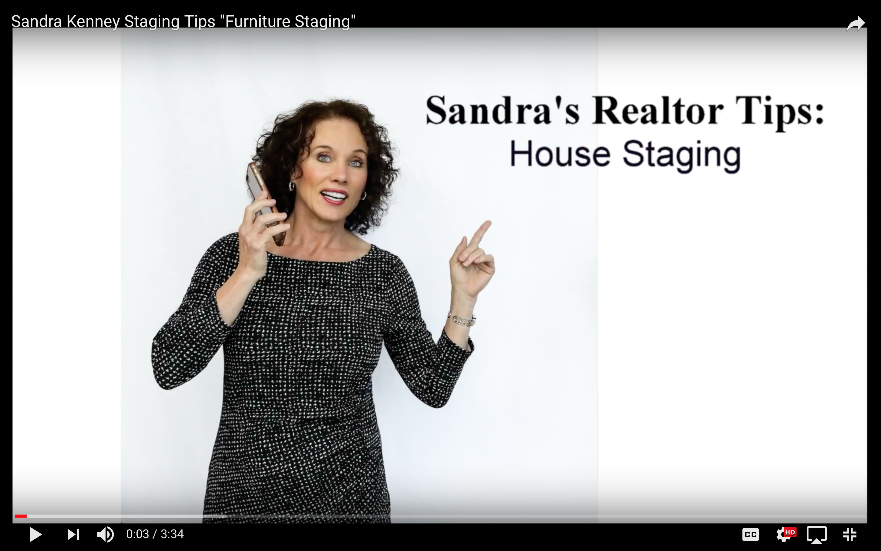 "Sandra Kenney Staging Tips ""Furniture Staging"""